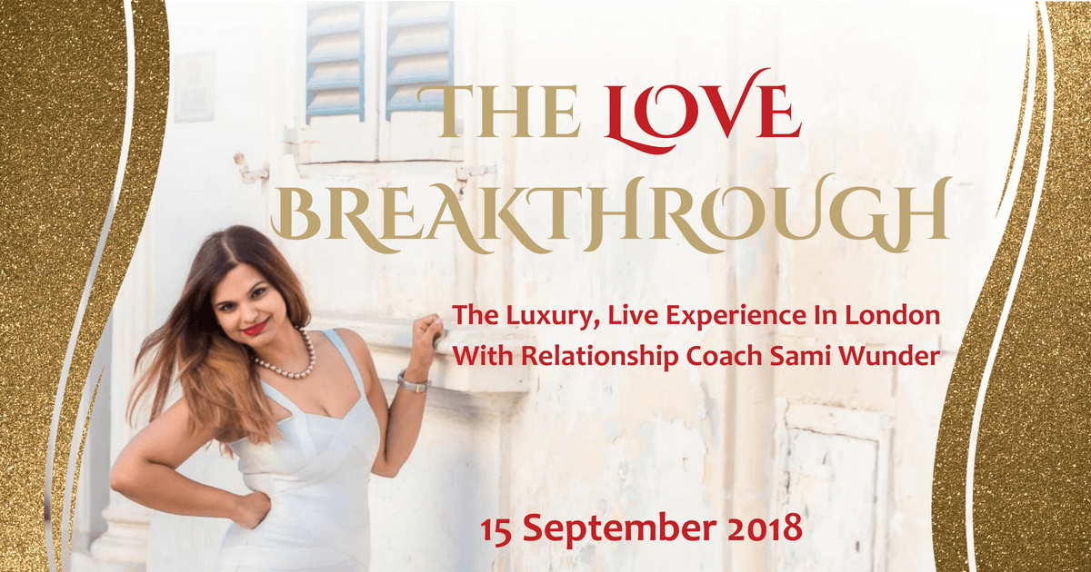 Sami Wunder Love Breakthrough Live Luxury Event